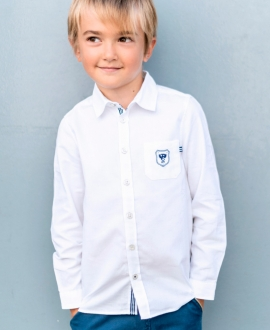 Camisa Niño TARTINE ET CHOCOLAT Blanca
