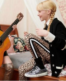 Pantalón Niña MONNALISA Estampado Leopardo