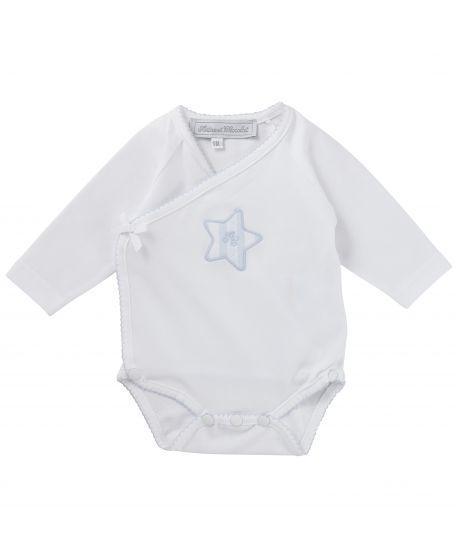 Body Tartine et Chocolat Bebé Estrella Azul