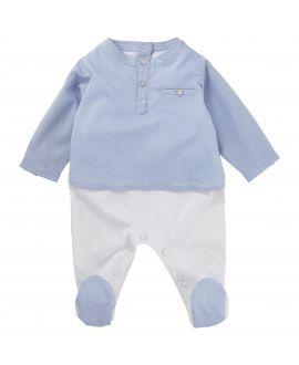 Pijama Tartine et Chocolat Bebé Dos Piezas Azul