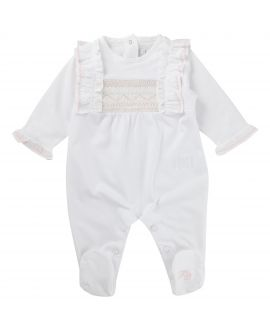 Pijama Tartine et Chocolat Bebé Blanco