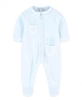 Pijama Bebé TARINE ET CHOCOLAT Azul Conejito