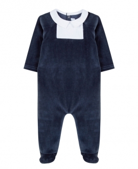 Pijama Bebé TARINE ET CHOCOLAT Terciopelo Marino
