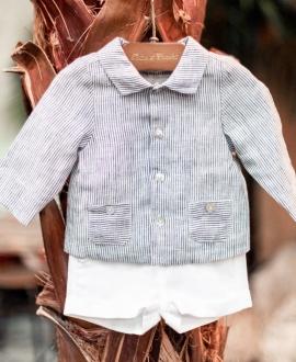 Short Bebé Niño TARTINE ET CHOCOLAT Blanco