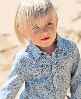 Camisa Bebé Niño TARTINE ET CHOCOLAT Liiberty Floral