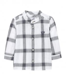 Camisa Bebé Niño TARTINE ET CHOCOLAT Blanca Cuadros