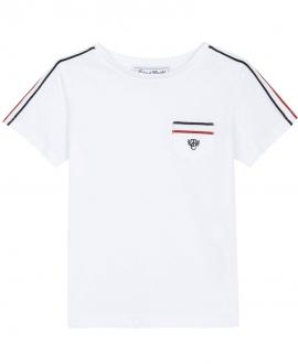 Camiseta Niño TARTINE ET CHOCOLAT Sport Blanca