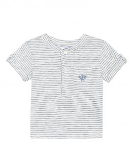 Camiseta Bebé Niño TARTINE ET CHOCOLAT Rayas Azul