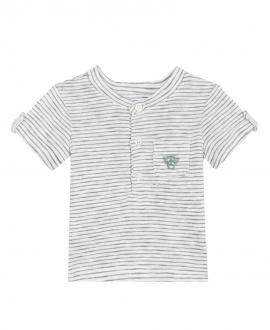Camiseta Bebé Niño TARTINE ET CHOCOLAT Rayas Verde