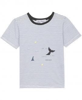 Camiseta Niño TARTINE ET CHOCOLAT Rayas Océano