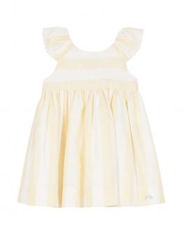 Vestido Bebé Niña TARTINE ET CHOCOLAT Rayas Amarillo
