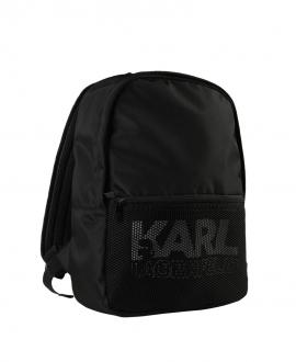 Mochila KARL LAGERFELD Negra Logo