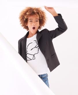 Camiseta Niño KARL LAGERFELD Silueta Karl