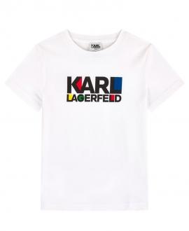 Camiseta Niño KARL LAGERFELD Logo