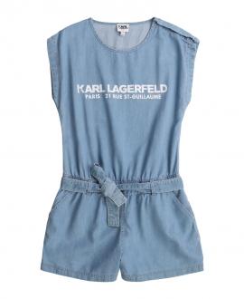 Peto Niña KARL LAGERFELD Azul