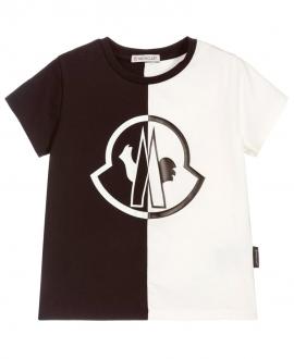 Camiseta Niño MONCLER Bicolor