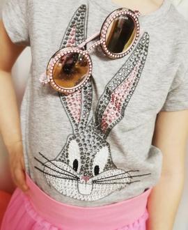 Camiseta Niña MONNALISA Bugs Bunny Strass