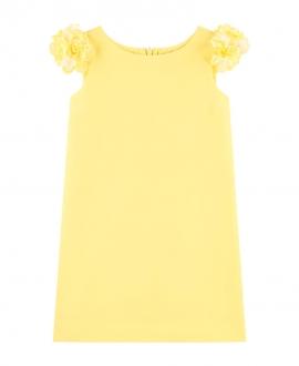 Vestido Niña MONNALISA Amarillo