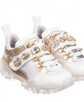 Sneakers MONNALISA Oro Piedras