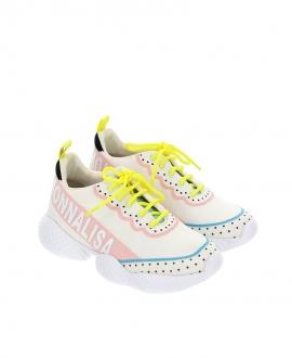 Sneakers MONNALISA Cordón Flúor