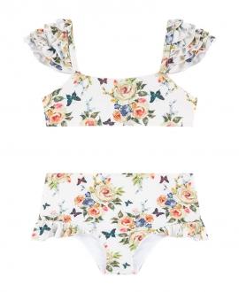 Bikini MONNALISA Flores y Mariposas
