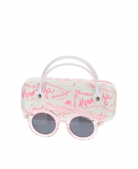 Gafas Niña MONNALISA Rosa Rayas
