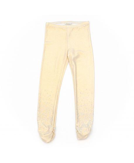 Pantalón Miss Grant Niña Lycra Dorado