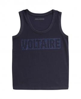 Camiseta Niña ZADIG & VOLTAIRE Azul Sin Mangas