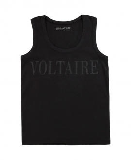 Camiseta Niña ZADIG & VOLTAIRE Carbón Sin Mangas