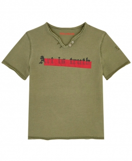 Camiseta Niño ZADIG & VOLTAIRE Art is Truth