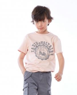 Camiseta Niño ZADIG & VOLTAIRE Rosa