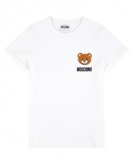Camiseta MOSCHINO Blanca Parche Oso
