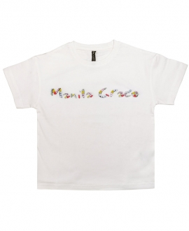 Camiseta MANILA GRACE Logo Piedras