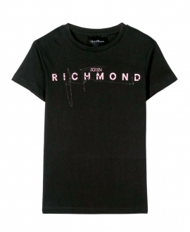 Camiseta Niño JOHN RICHMOND Negra