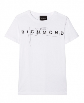 Camiseta Niño JOHN RICHMOND Blanca
