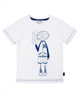 Camiseta Niño LITTLE MARC JACOB Let's Go