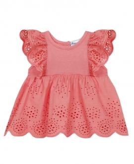 Camiseta Bebé Niña TARTINE ET CHOCOLAT Rosa Perforada