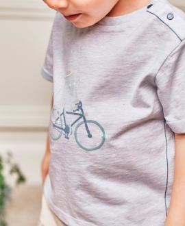 Camiseta Bebé Niño TARTINE ET CHOCOLAT Azul