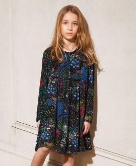 Vestido Niña ZADIG & VOLTAIRE Estampado Colores