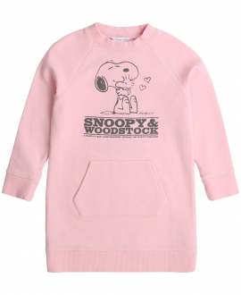 Vestido Niña LITTLE MARC JACOB Snoopy Rosa