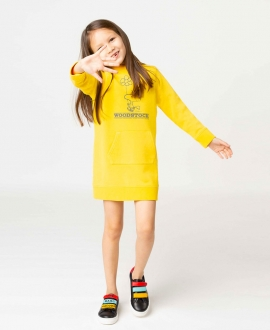Vestido Niña THE MARC JACOBS Snoopy Amarillo