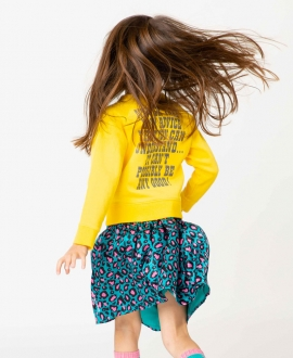 Sudadera Niña THE MARC JACOBS Snoopy Amarillo