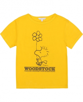 Camiseta Niña THE MARC JACOBS Woodstock Amarilla