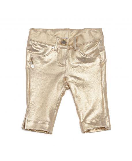 Pantalón Microbe Niña Oro