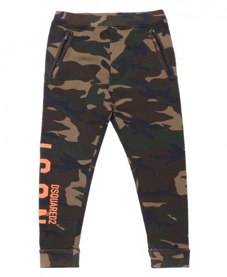 Pantalon Nino Dsquared2 Camuflaje Ro Infantil