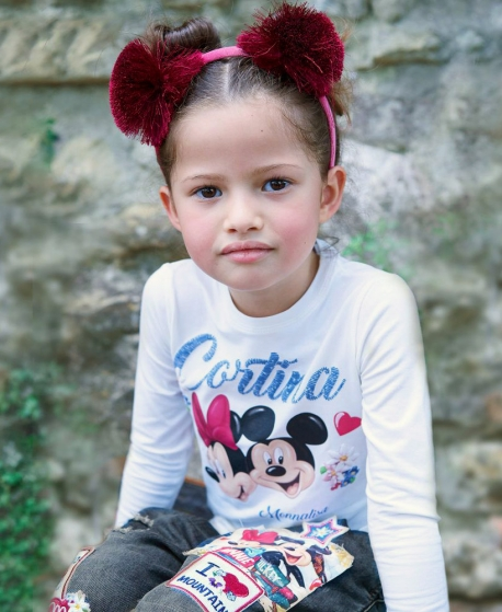 Camiseta Niña MONNALISA Minnie y Mickey