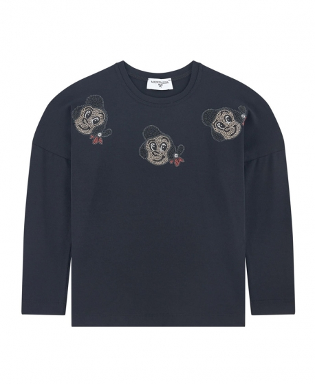 Camiseta Niña MONNALISA Olivia Negro