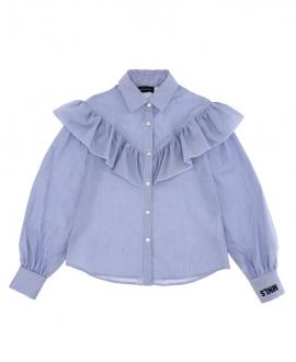 Camisa MONNALISA Popelin Azul
