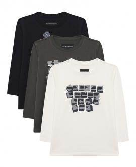 Camisetas Niño EMPORIO ARMANI Pack 3