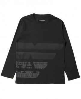 Camiseta Niño EMPORIO ARMANI Gris Oscuro